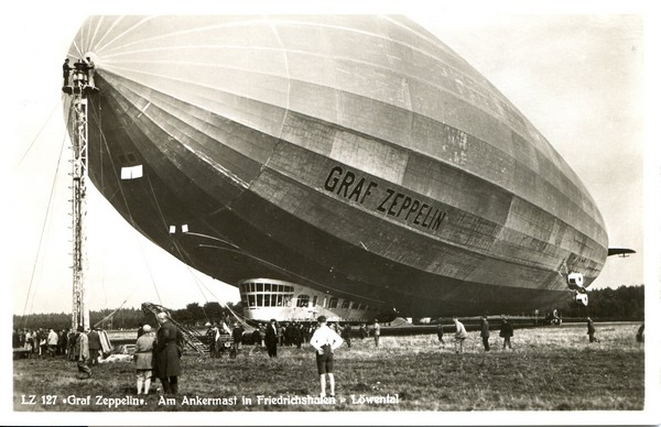 ballon dirigeable 1937